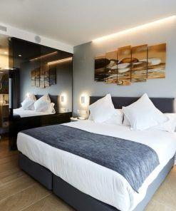 habitación adaptada del hotel alameda, en Valencia