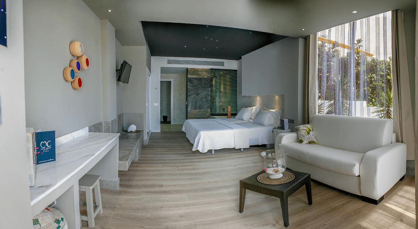 Habitación hotel adaptado MC San José