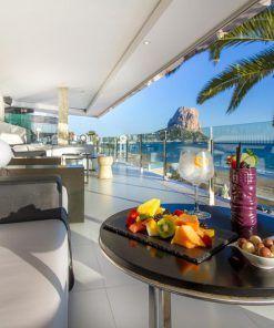 Hotel sol y mar adaptado, en Calpe