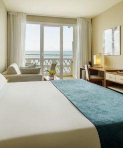 Habitación adaptada hotel Ilunion Fuengirola