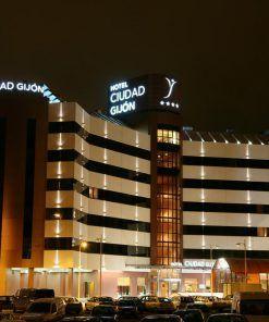 Hotel adaptado Silken Ciudad de Gijón
