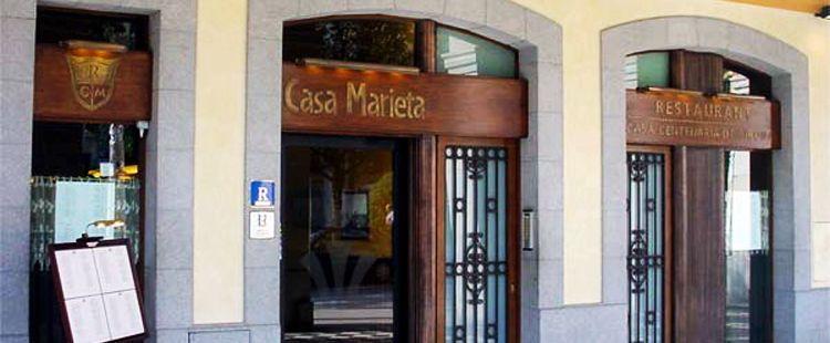 Restaurante casa Marieta. Girona accesible