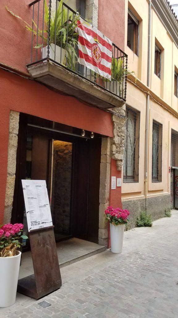 Restaurante L'Alquería. Girona accesible