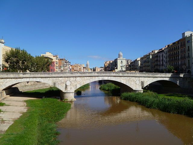 Turismo girona accesible: Pont de Pedra
