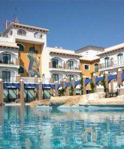 Hotel La Laguna spa y golf, con habitaciones adaptadas a personas con movilidad reducida